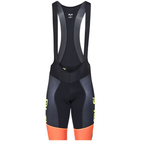 Alé Cycling R-EV1 Master Bibshorts Men black-fluo org-fluo yellow